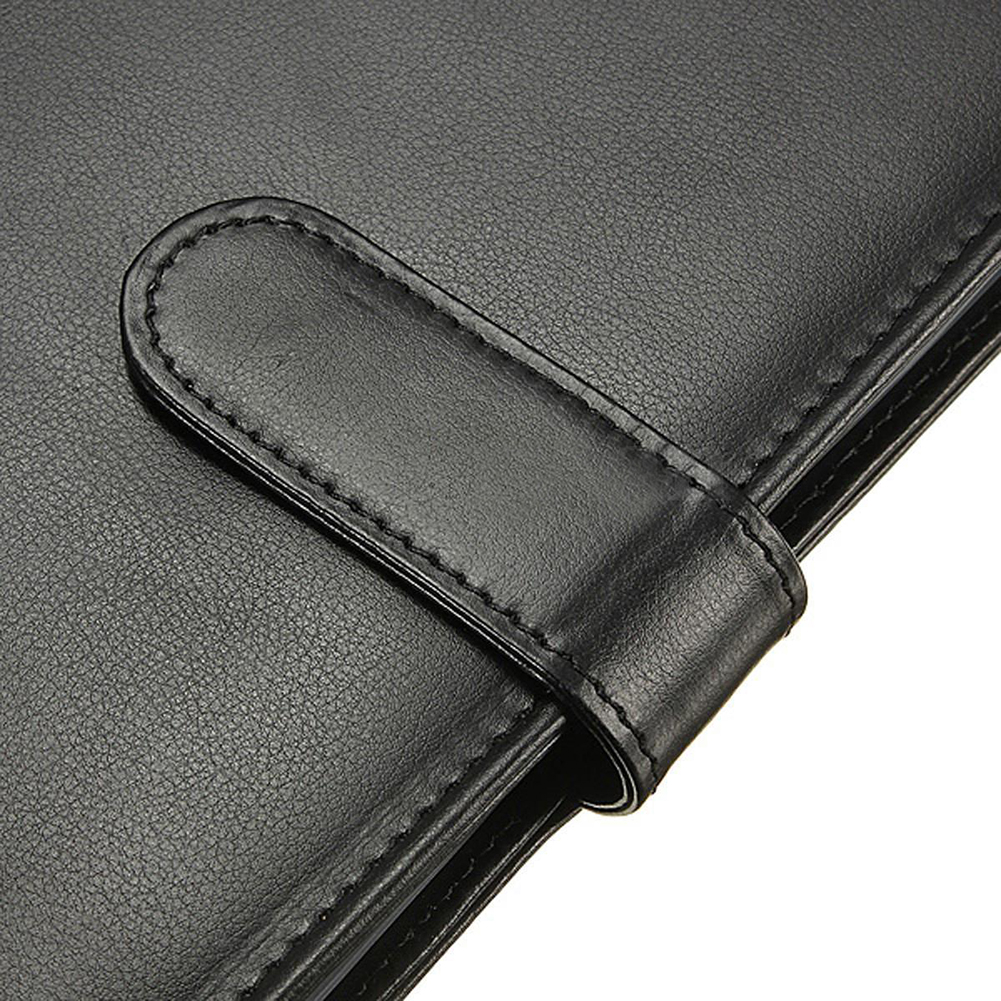 PPYY NEW -Leather Folder A4 briefcase Conference Folder BlackPPYY NEW -Leather Folder A4 briefcase Conference Folder Black