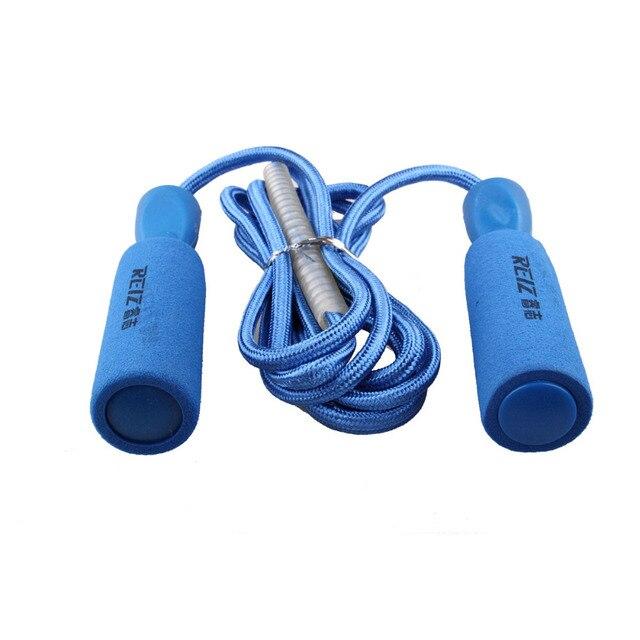Alça Esponja Pular Corda Ajustável Crossfit Fitness Equipment Exercício de  Musculação 383A Rolamento de Pular Corda f27d73648632d
