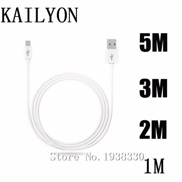1m 2m 3m 5m Micro kabel usb do samsunga Galaxy S3 S4 S5 Mini S7 S6 krawędzi Plus kabel danych ładowarka do telefonu komórkowego synchronizacja długie ładowanie