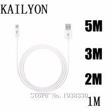 Кабель Micro USB 1 м, 2 м, 3 м, 5 м для Samsung Galaxy S3 S4 S5 Mini S7 S6 Edge Plus, кабель для передачи данных, мобильный телефон, зарядное устройство для синхронизации, длинная зарядка