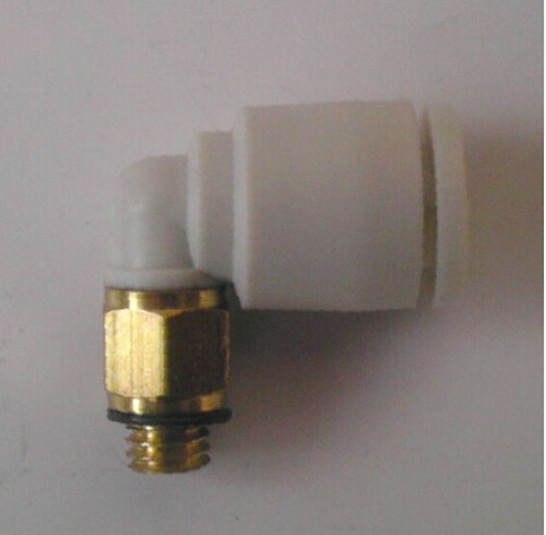 Tube size 4mm-M3 thread pneumatic elbow fitting