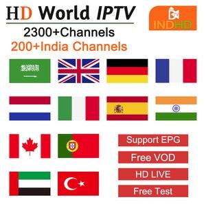 Image 1 - INDhd tv IP tv индийские арабские Италия IP tv Польша Германия IPTV Турция Ex Yu Пакистан Африка IP tv Арабский индийский код IPTV для Android