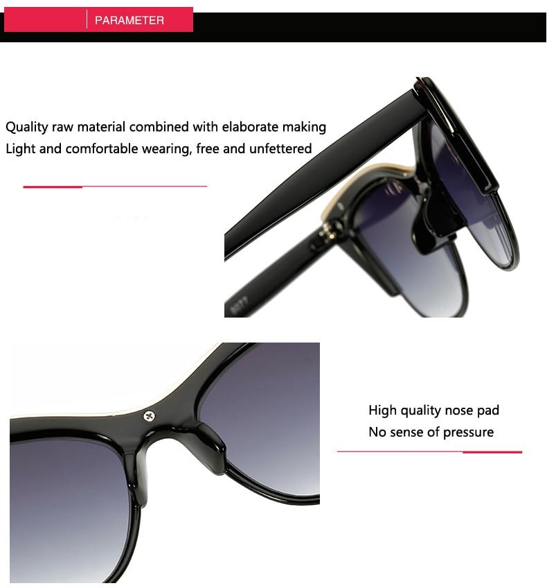 085c3e4d0a Compre Gafas De Sol De Ojo De Gato Para Mujeres Sunglass Men Lentes ...