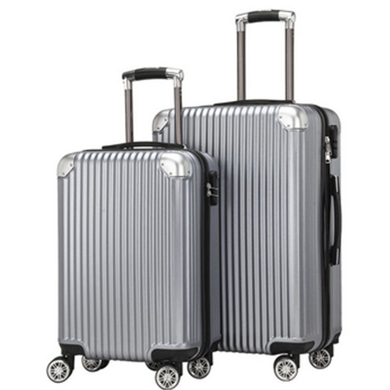 Universal Wheel Cipher Rod Boxes Wear-resistant Consignment Box Waterproof Cabinet Aseismic PC Suitcase Travel Luggage 20/24