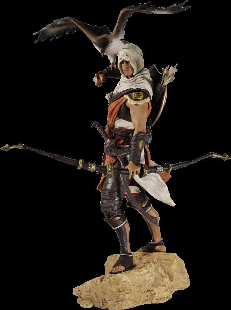25cm Assassins Creed Bayek Action Figure 1/6 scale figure Origins Baye PVC Action Figure Toy assassin s creed origins action figure bayek aya pvc 230mm anime assassin s creed origins figurine model toys