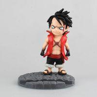 Anime One Piece Q Luffy Ver. Handyhalter PVC Action Figure Brinquedos Figuras Anime Sammeln Kinder Spielzeug