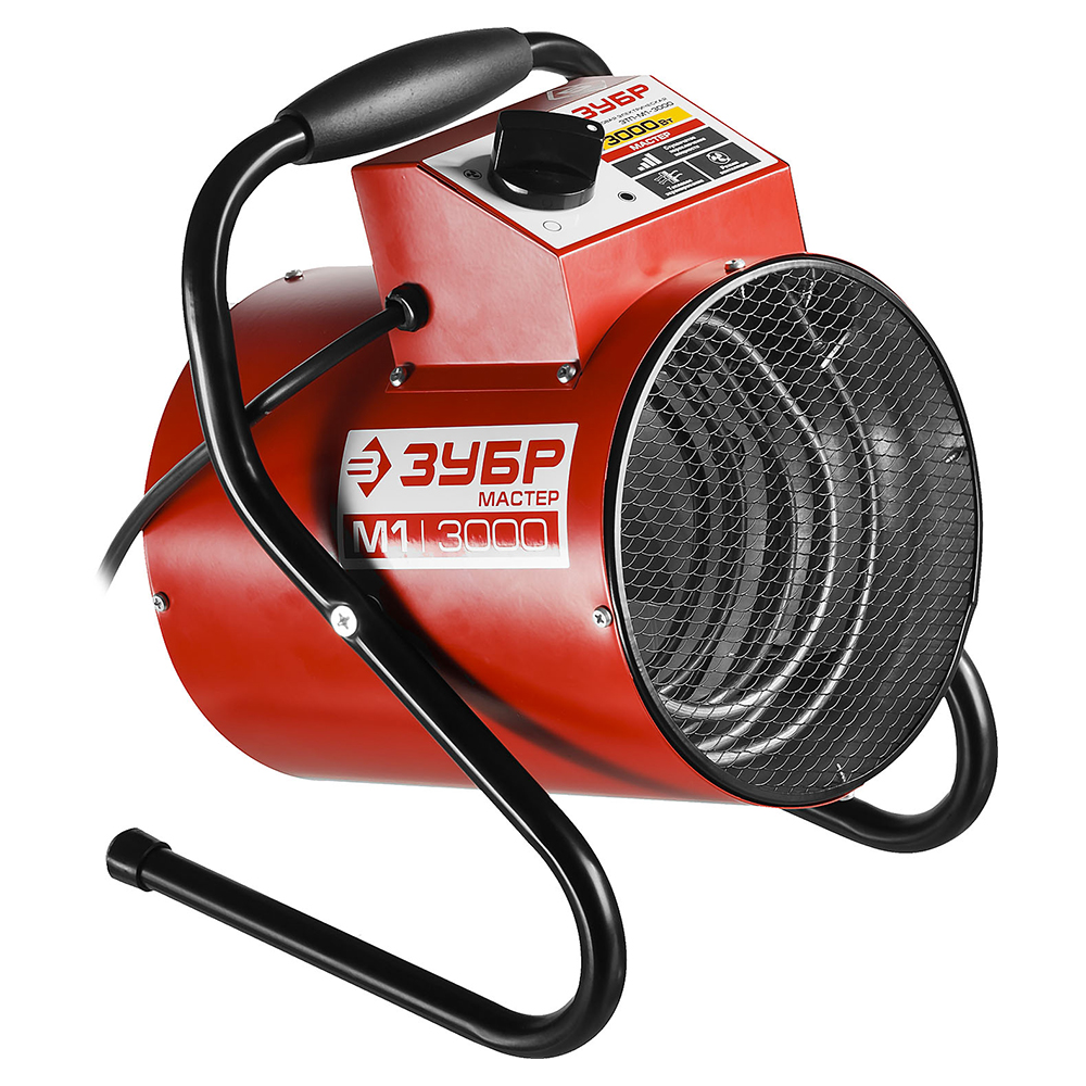Electric heat cannon ZUBR ZTP-M1-3000 цена