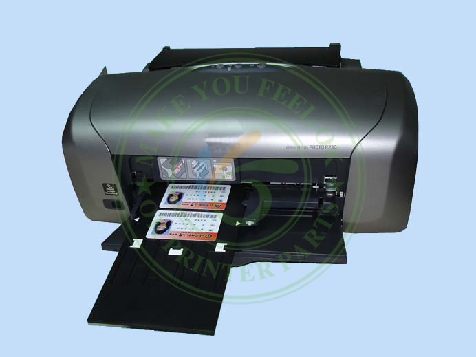 Inkjet PVC ID Card Tray Plastic Printing For Canon IP4600 4700 4760 4820 4850 4880 MP630 640 MG5250 8150 In Printer Parts From