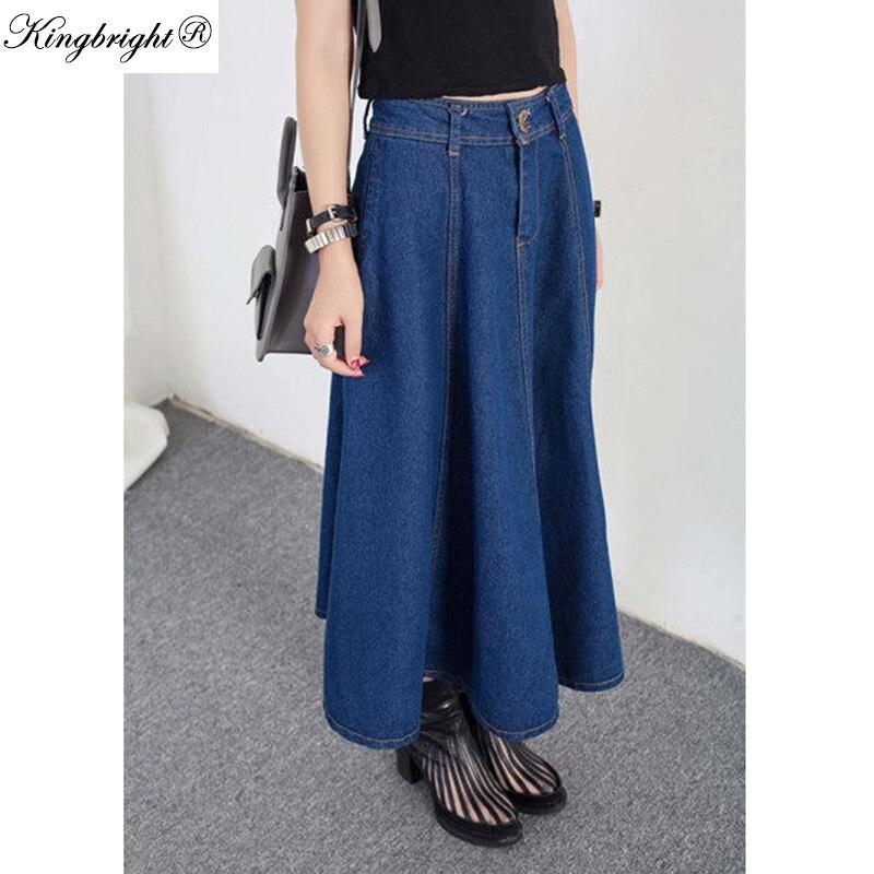 Popular Ankle Length Denim Skirts-Buy Cheap Ankle Length Denim ...