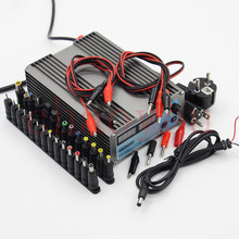 Mini cps-3205II DC Power Supply + 37pcs DC cable connector EU UK US adapter OVP/OCP/OTP low power 110V – 230V 0-32v 0-5A
