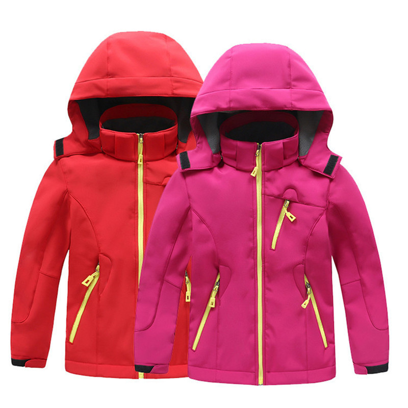 2018 Winter Thicken Boys Girls Jackets Children Outerwear Warm Sporty Hoodie Coats Kids Windproof Clothes Toddler Trench Coat boys fleece jackets solid coat kid clothes winter coats 2017 fashion children clothing