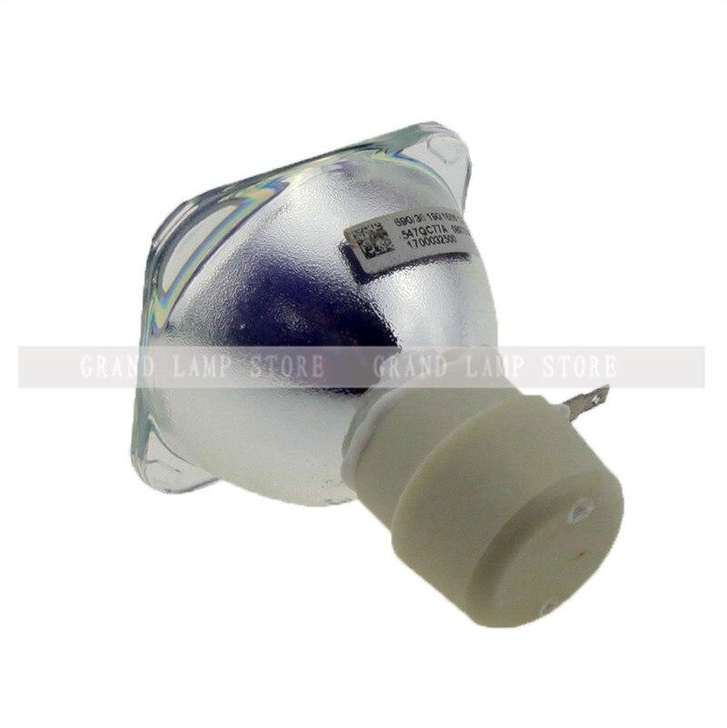 Original Bare Lamp 5J.J6L05.001 For MX518F EP6127A ES616F EX6270 MS276F MS507H MS517 MS517F MW519 MX2770 MX518 Happybate