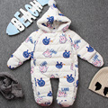 2016 Duck down Baby Rompers Winter Thick Boys Costume Girls Warm Infant Snowsuit Kid Jumpsuit Children Outerwear Baby Wear