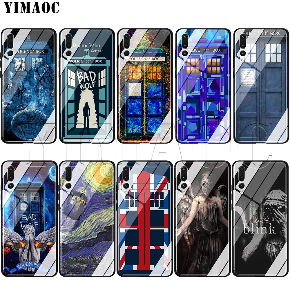 Phone Bags & Cases Systematic Yimaoc Tardis Box Doctor Who Tempered Glass Tpu Case For Huawei Honor Mate 7a 8x 9 P10 20 Y6 Y9 P Smart Lite Pro 2018 2019