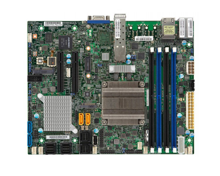OEM X10SDV-7TP4F Onboard Xeon D-1537 Eight Core Dual Gigabit Ethernet Dual Gigabit Ethernet Port