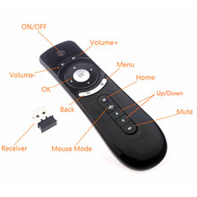 Air Mouse. 2.4G Wireless Somatosensoriale remote-control. Built-in 6 Assi. Adatto per PC, Android Tv Box, Android AUN Proiettore(China)