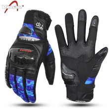VEMAR Motocross Gloves Motorcycle Touch Screen Moto Waterproof Winter Motorbike Riding