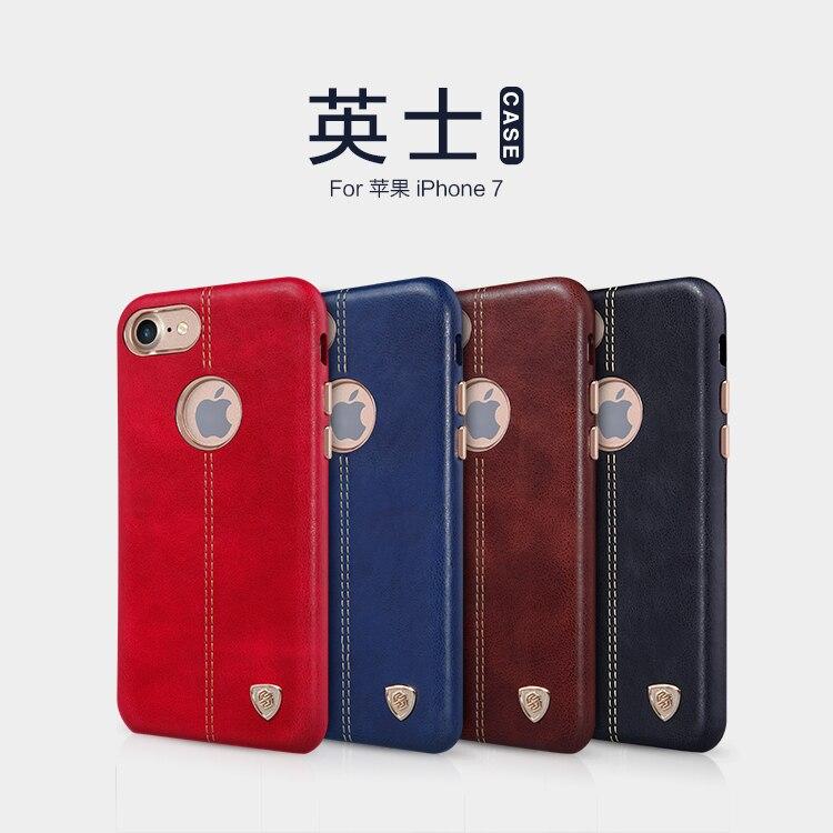 bilder für Nillkin Englon Serie Abdeckung Fall für Apple iPhone 7 Vintage PU Ledertasche für iPhone7 4,7 zoll arbeits mit magnethalter