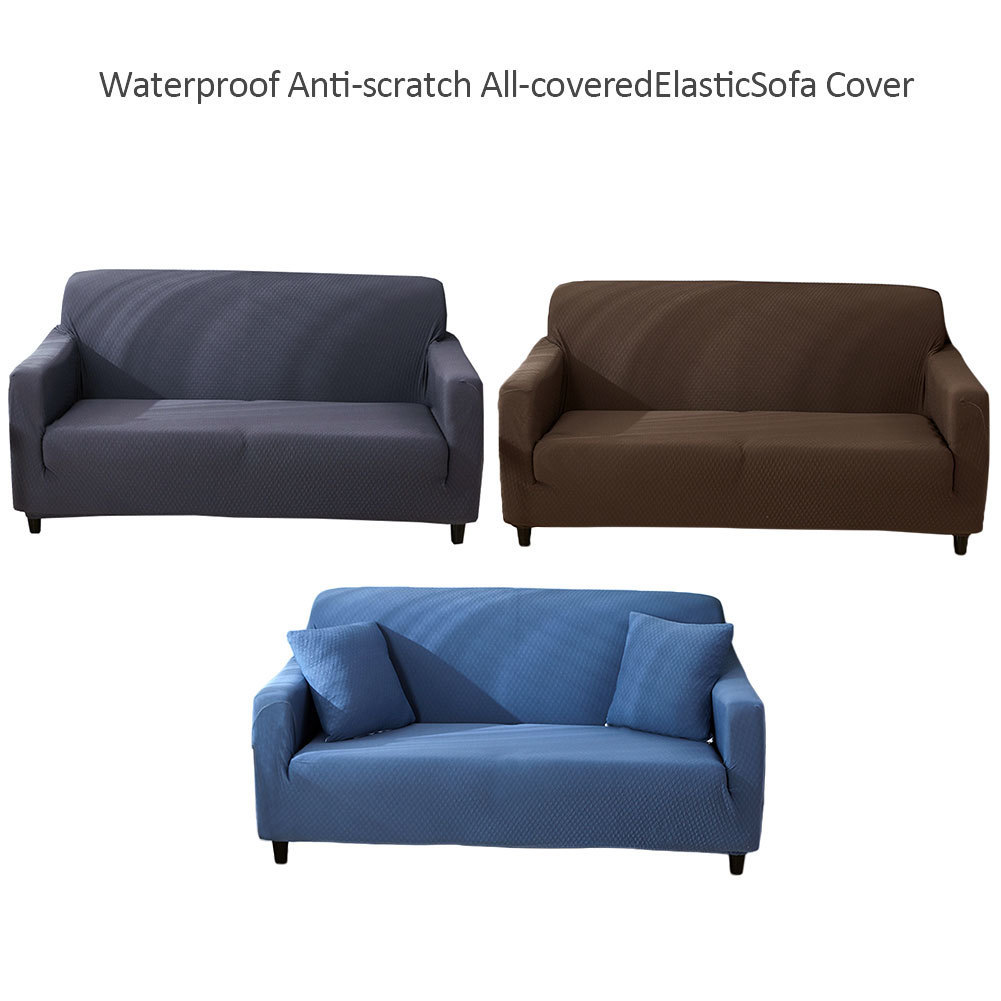 Thickened Waterproof Sofa Cover Set High Quality Couch Slipcover Breathable Shaped Sofa Cover Form Fit Furniture Protector Cover