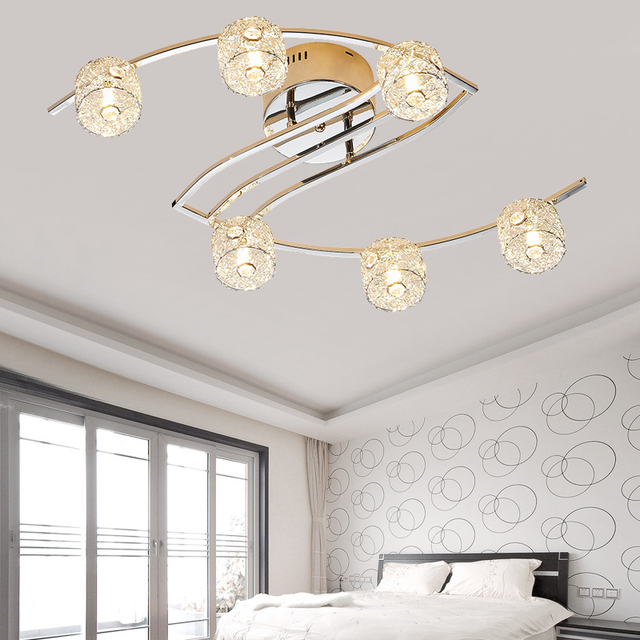 New item fancy ceiling light LED Crystal ceiling lamp modern lamps ...