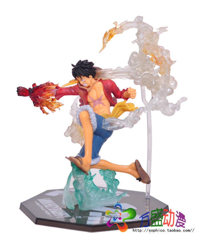 Anime One Piece Monkey D Luffy Action Figure PVC Roronoa Zoro Fighting Figure World Toy Onepiece model free shipping