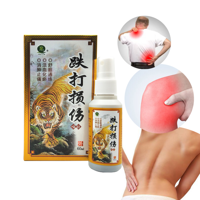 Chinese Medicine Tiger Blam Pain Relief Spray Rapid Relief From Rheumatic, Rheumatoid Arthritis, Joint Pain, Muscle Pain Bruises