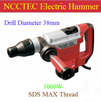 1.5'' 38mm SDS MAX electric rotary hammer breaker | drill holes in concrete brick stone | 1060w power 9J plastic case