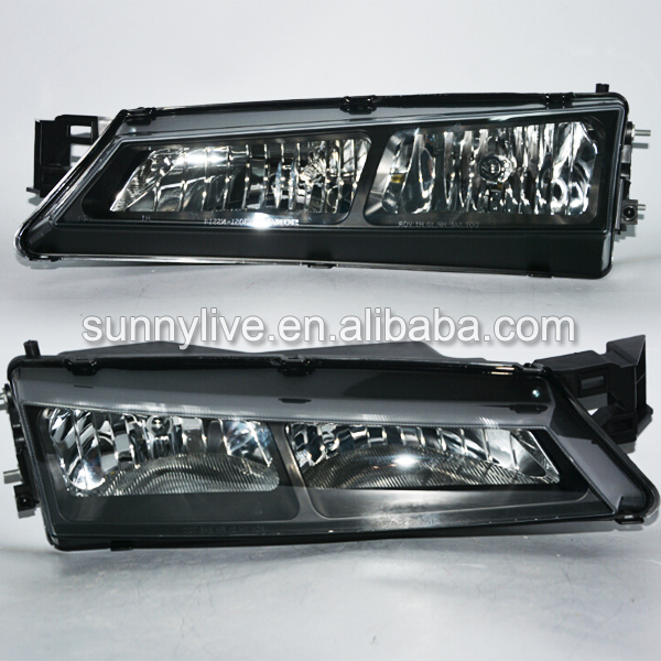 1996-1998 Year For NISSAN S14 LED Head Lights Drift racing special use Black Housing SN