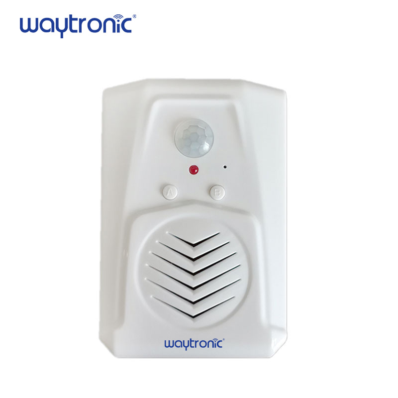 Wireless Infrared Doorbell Door Chime Motion Sensor Entry Alarm for Shop Store Visitor Welcome Sales Promotion Voice Advertising shop store supermarket advertising motion sensor mp3 sound player with 128m sd memory card for sales promotion voice broadcast