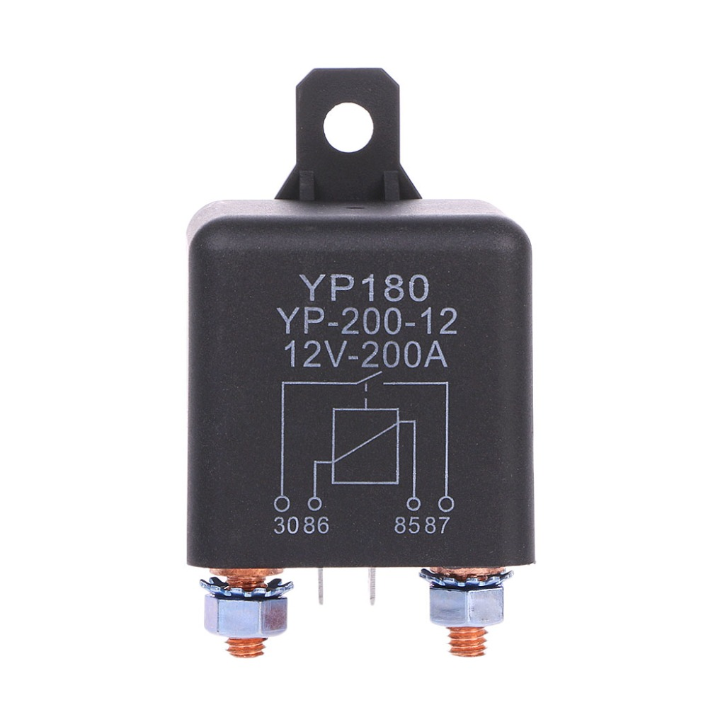 24V/12V DC 200A High Power Car Relay Truck Motor Continuous Type Automotive Switch L15