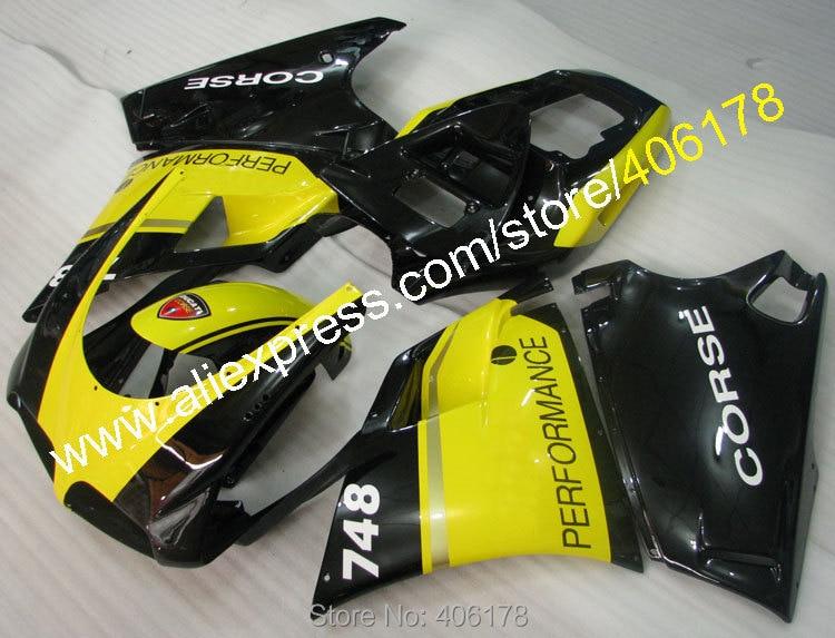 Hot Sales,Cheap Bodywork Fairing for Ducati 748 916 996 998 1996-2002 96-02 performance fairing kit (Injection molding)