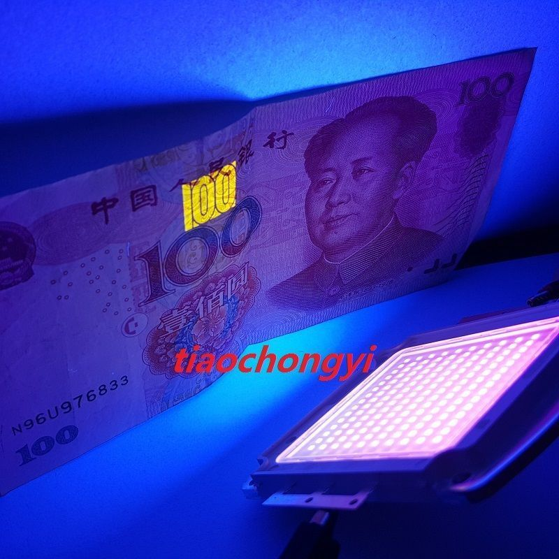 Testing report 100W High Power 410-420nm UV Led Chip for Ink Curing 26