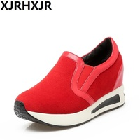 XJEHXJR New Spring Casual Shoes Woman Size 31 42 Fashion Platform Comfort Shoes Female Walking Sneakers