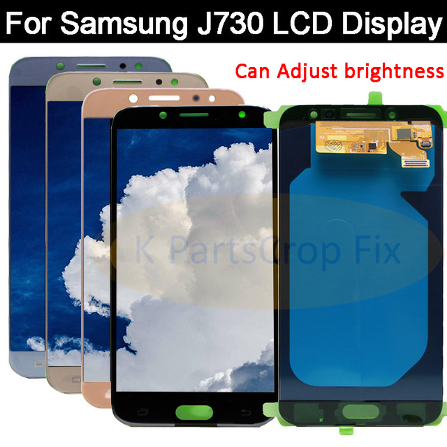 US $35 29 5% OFF|Super AMOLED For Samsung Galaxy J730 J7 Pro 2017 LCD  Display+Touch Screen Digitizer Assembly Replacement For SAMSUNG J730 LCD-in