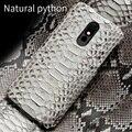 100% echtem Snakeskins Leder Telefon fall Für LG Stylo 5 Deckt Luxus Fällen für LG Stylo 4 V40 V50 G7 g8 ThinQ G8s ThinQ G6 G5