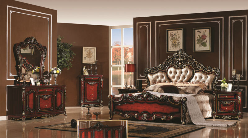 online shop luxury bedroom furniture sets bedroom furniture china deluxe six piece suit aliexpress mobile - Luxury Bedroom Furniture