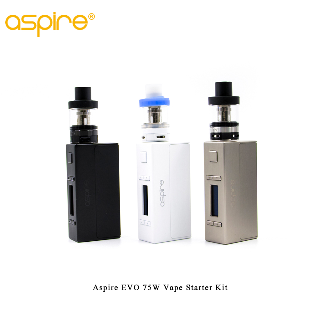 Clearance Aspire EVO 75W Vape Starter Kit with 2ML Atlantis EVO Tank &NX75 Mod Sub-ohm vaping system kitClearance Aspire EVO 75W Vape Starter Kit with 2ML Atlantis EVO Tank &NX75 Mod Sub-ohm vaping system kit