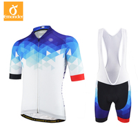 EMONDER Cycling jersey set 2017 pro team Summer Breathable cycling clothes ciclismo ropa de ciclismo