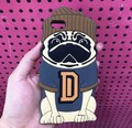 Cute Cartoon 3D Animal Pug Dog Silicone Funda Soft Back Cover Capa Para Carcasas Coque Hull For iPhone 6 6s Case