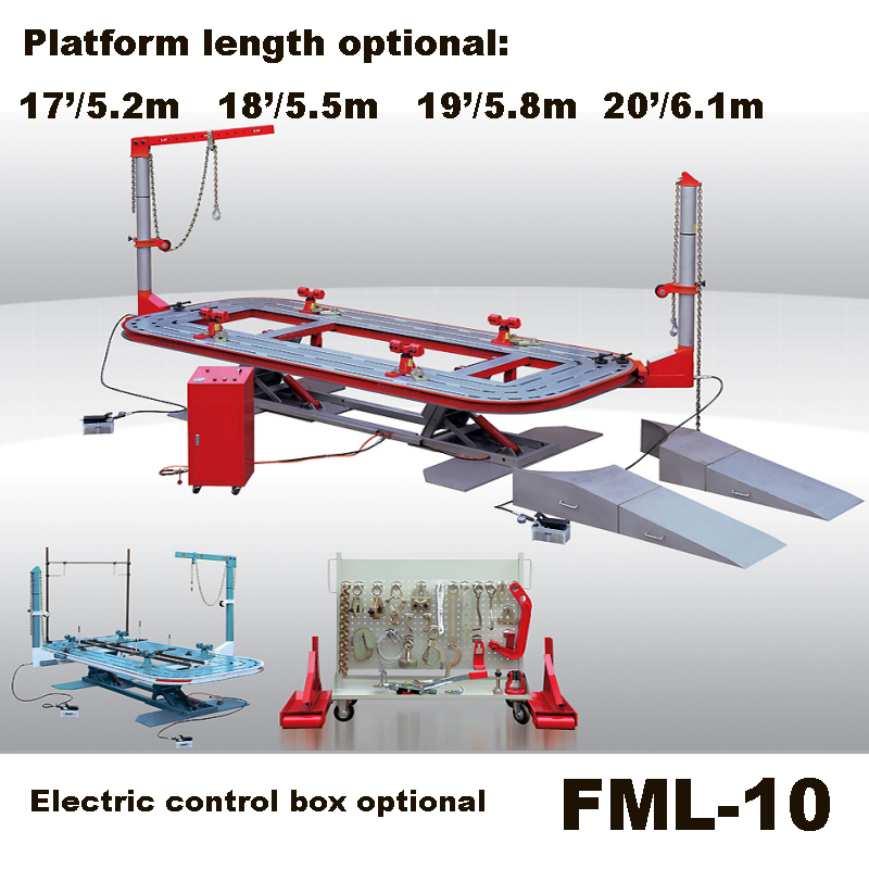 FML 10 Car straightening frame machine/Auto chassis alignment bench ...