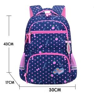 Image 4 - 2021 New Orthopaedics Schoolbags Waterproof School Backpacks For Teenagers Girls Kids Backpack Children School Bags Mochila