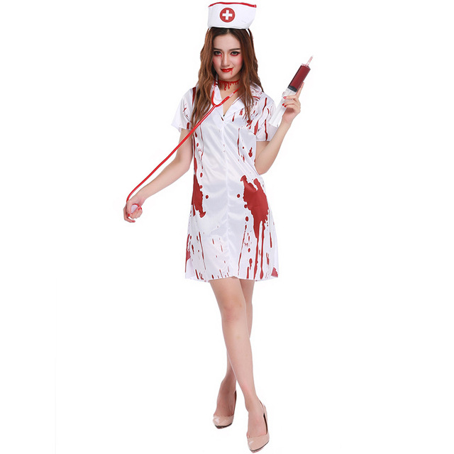 disfraces de halloween enfermera
