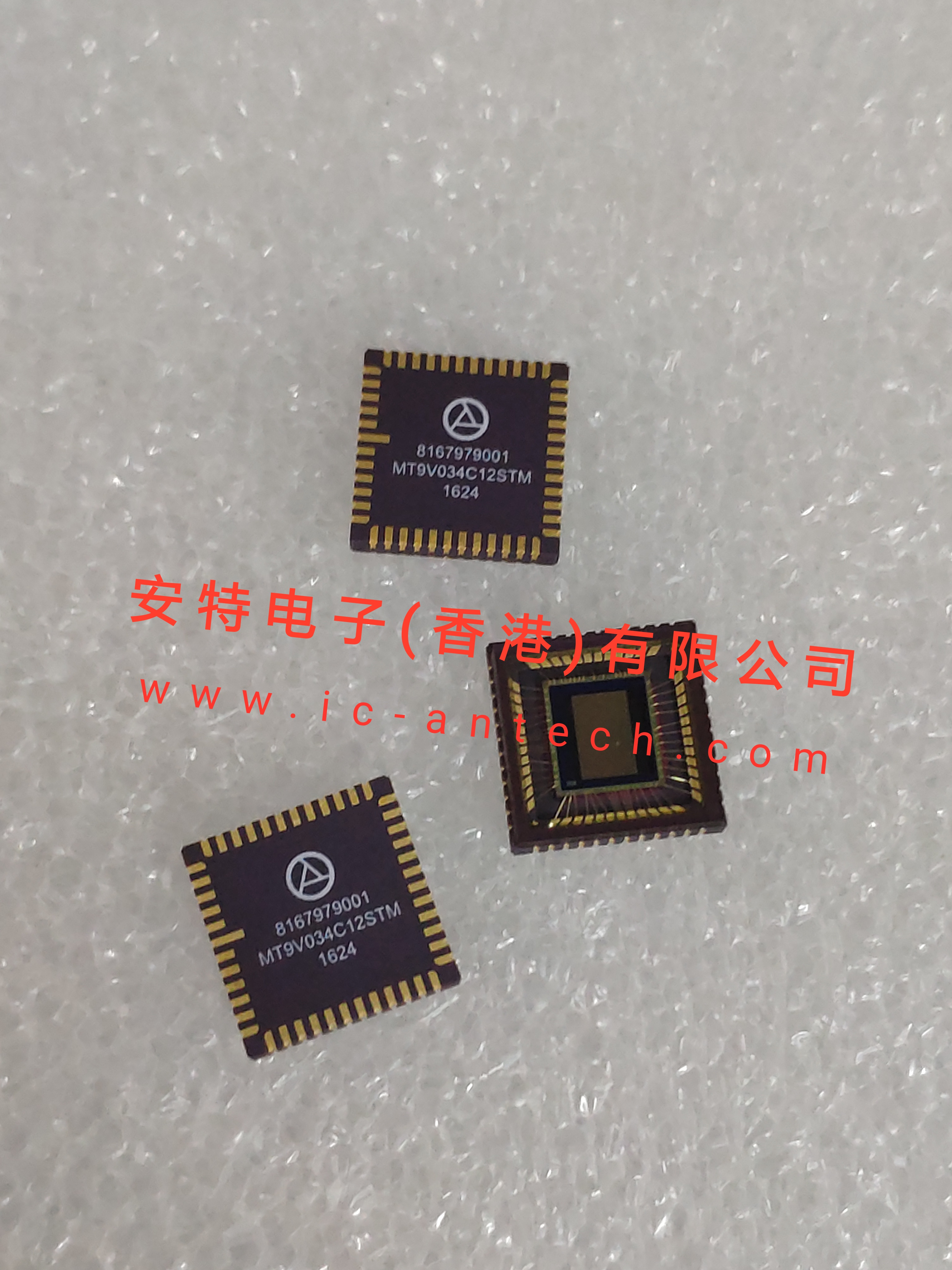 10PCS New Original MT9V034C12STM CLCC48