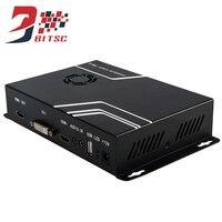 SZBITC Video Wall 2x2 USB HDMI VGA DVI TV Processor 1080P HDMI Splitter Rotate Box 90