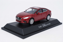 все цены на 1:43 Diecast Model for Mazda 3 Axela 2014 Red Sedan Alloy Toy Car Miniature Collection Gifts Mazda3 онлайн