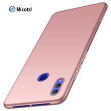 Frosted Hard PC Matte Case Coque for Huawei Honor 8C 6.26 inch Luxury Plastic Back cover cases sfor