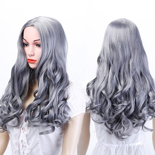 WTB Natural Curly Black Hair Wigs Synthetic Heat Resistant wigs For Black Women Long Wave Wigs without bangs high quality women long curly black wigs with bangs free cap