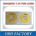 Com software em cd para lexia pp2000 v7.24 diagbox 7.24 lexia 3