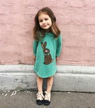 2017 MR rabbit dress and aweatshirt pants for kids