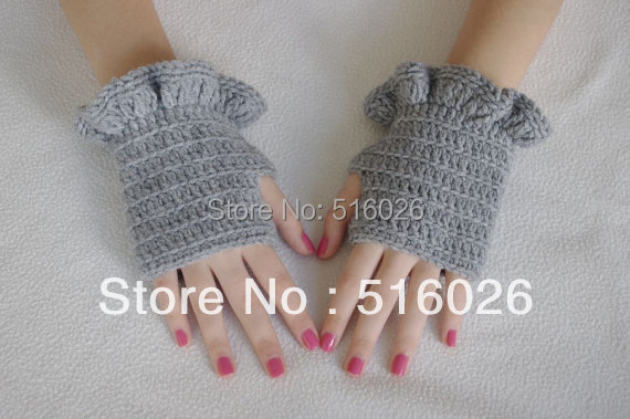 hand crocheted fingless glove, sexy women accessory, hand jewelry, Lace, Yoga, short elegant fingerless glove, Dance 2pair/lot